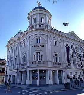 Coronet Theatre, London theatre company in London, England