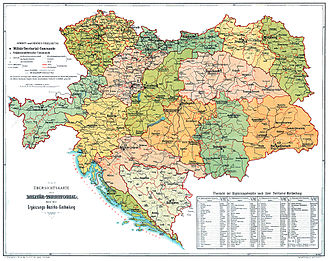 Austro-Hungarian Army - Corps areas in the Austro-Hungarian Army