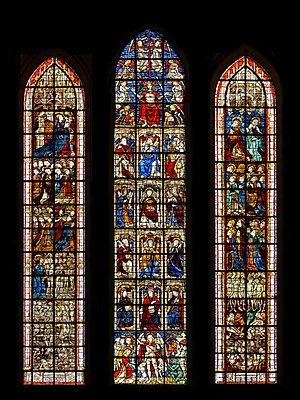 Coutances Cathedral - Image: Coutances Cathedral SGW 01
