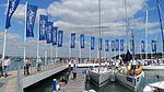 Cowes Yacht Haven during Cowes Week 2013 2.JPG