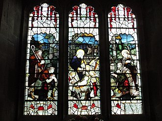 Charles Eamer Kempe - St Peter's Church, Cowfold, West Sussex