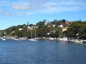 Cremorne, New South Wales - Image: Cremorne Willoughby Bay