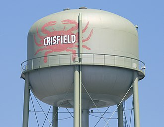 Crisfield, Maryland - Crisfield water tower