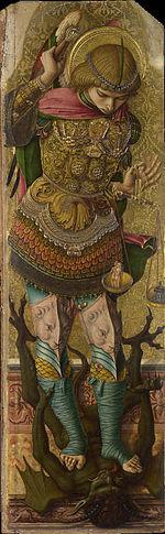 Image result for crivelli San Domenico in Ascoli Piceno