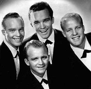 Lindsay Crosby - The four Crosby brothers-(L-R) Dennis, Gary, Lindsay and Phillip in 1959.