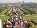 Crowds at the Bahá'í Lotus Temple (943500620).jpg