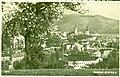 Csehszlovákia. Besztercebánya látképe, hátul balra a Szűz Mária Mennybemenetele templom, jobbra a Barbakán. Fortepan 95960.jpg