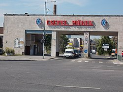 Csepel Works, main entrance, 2016 Budapest.jpg