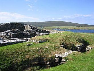 Wyre, Orkney - Cubbie Roo's Castle