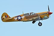 Curtiss P-40F Kittyhawk 'X-I7' (G-CGZP) (44708179225).jpg