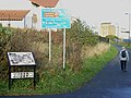 Cycleway sign on Hadrian's Way - geograph.org.uk - 1052475.jpg