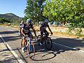 Cyclistes à Aggius.JPG