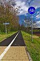 Cyklostezka na místě bývalé železniční trati, Tištín, okres Prostějov.jpg
