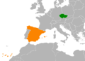 Czech Republic Spain Locator.png