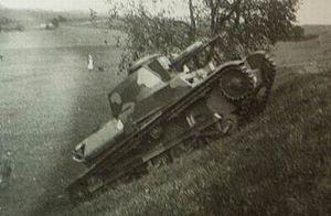LT vz. 34 - A Czech LT vz. 34 in 1935