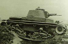 The prototype LT-35 in trials, 1936