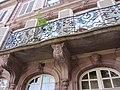 Détail balcon 7 place Saint Etienne à Strasbourg.jpg