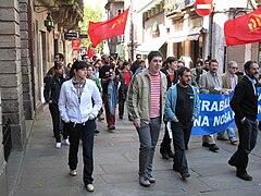 Día do traballo. Santiago de Compostela 2009 53.jpg