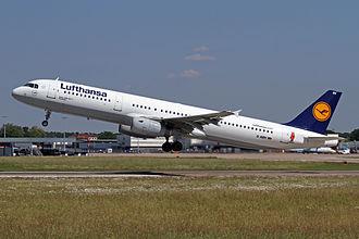 "Die Sendung mit der Maus - Lufthansa Airbus A321-100 D-AIRY ""Flensburg"" with the Mouse"