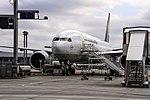D-ALFA Lufthansa Cargo Boeing 777-FBT after arriving from Alamaty (UAAA) @ Frankfurt - Rhein-Main International (EDDF) 10.06.2015 (27712979886).jpg