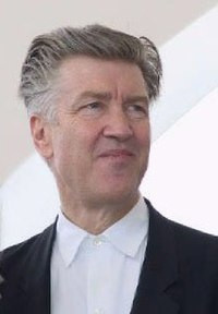 David Lynch w Cannes w 2001