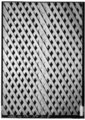 DETAIL OF LATTICE WORK IN CENTER (DINING) ROOM - Old Beersheba Inn, Polk House (Cottage), Armfield Avenue, Beersheba Springs, Grundy County, TN HABS TENN,31-BERSP,2-8.tif