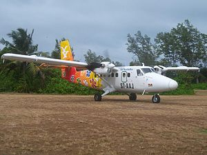 Light aircraft - With a maximum gross takeoff weight of 12,500 lbs, the de Havilland Canada DHC-6 Twin Otter is an example of the upper limit of the light aircraft category.