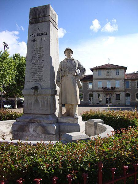 Hérépian (Hérault, Fr) monument aux morts