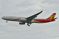 Airbus A330-300 der Hong Kong Airlines