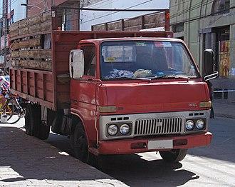 Daihatsu Delta - Image: Daihatsu Delta Diesel 1983