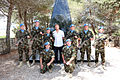 Damien Duff and his brother Sergeant Gerry Duff visit the troops of the Irish 106 Battalion in Tibnine Lebanon (7514395380).jpg