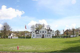 Damsgård Manor building in Bergen, Hordaland, Norway