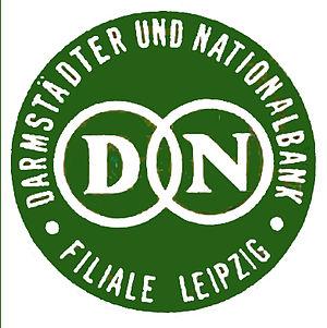 Danatbank - Image: Darmstaedter und nationalbank