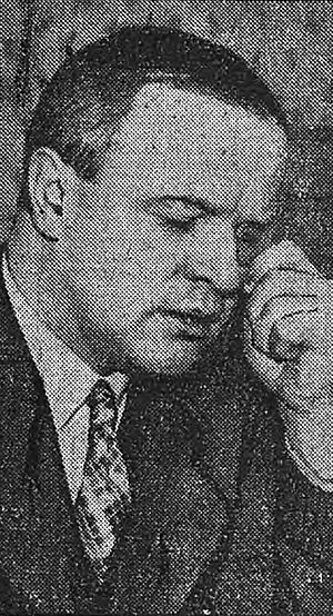 Louis Darquier de Pellepoix - Darquier (newspaper picture, Le Matin, 6th May 1942).