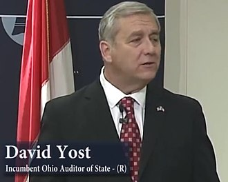 Ohio State Auditor - Image: Dave Yost, Sept 15, 2014