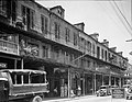 Decatur Street French Quarter 1936 Ursulines Row Houses Street Scene.jpg