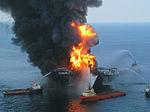 Взрыв нефтяной платформы «Deepwater Horizon»