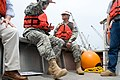 Defense.gov News Photo 100803-A-0193C-016 - Chief of Staff of the Army Gen. George W. Casey Jr. is given a tour of the Surge Barrier Wall that is being constructed by the Army Corps of.jpg