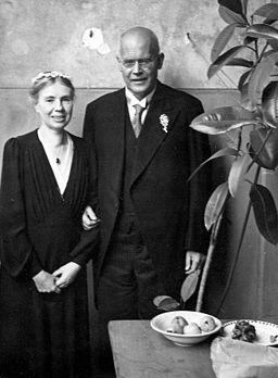 Dehn, Günther mit Ehefrau Luise Silberhochzeit Berlin (27751358512)