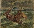 Delacroix - Le Christ sur le lac de Génésareth, Ca. 1854.jpg
