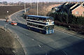 Delaine of Bourne bus, Peterborough, February 1981.jpg