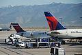 Delta Air Lines N751AT, N928DN@SLC, October 12, 2011 (6301846924).jpg
