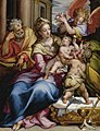 Denys Calvaert - The Holy Family with Saint John the Baptist and an angel.jpg