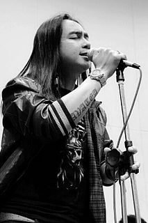Depha Masterpiece Lead vocalist for an Iban Rock band from Sarawak, Malaysia