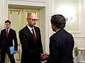 Deputy Secretary Blinken is Greeted by Ukrainian Prime Minister Yatsenyuk (16547250490).jpg