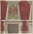 Design for Chimney Piece, Château du Duc de Meternick, Johannisburg MET DP806941.jpg
