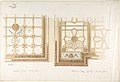 Design for Library or Dining Room Ceiling, Coffered and Painted Rust and Olive Green MET DP805632.jpg