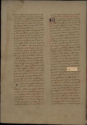 Awake iron! - Desperta Ferres! Crònica de Ramon Muntaner (Còdex del 1342)