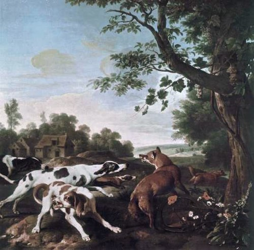 The Fox Hunt, Alexandre-François Desportes