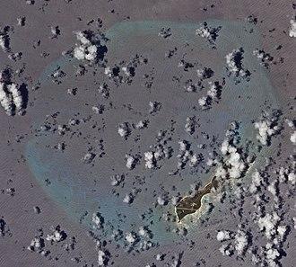 Desroches Island - Image: Desroches ISS022